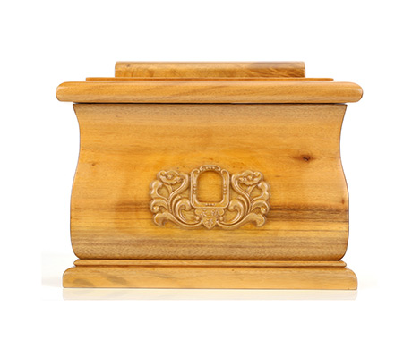 福盒小叶桢楠金丝楠木老料纯实木骨灰盒