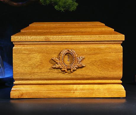 思念宫金丝楠木小叶桢楠实木骨灰盒