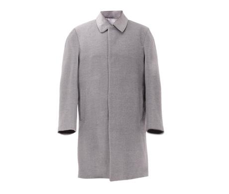 豪华羊绒男士大衣(蓝色、卡其色、深灰色、浅灰色)