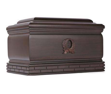 纪念堂(单人)黑紫檀骨灰盒
